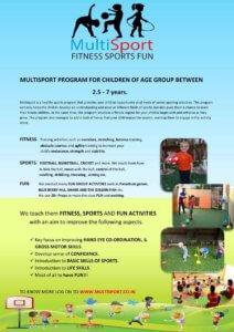 Multi-Sport program at KydzAdda