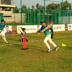 Cricket Game for Kids at Six