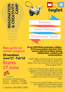 Lego Weekends at Kavade