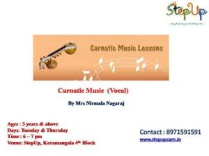 Carnatic Music Classes