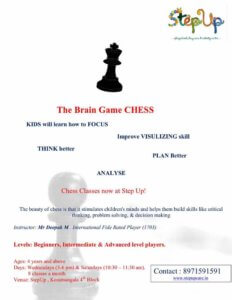 Chess Classes at StepUp