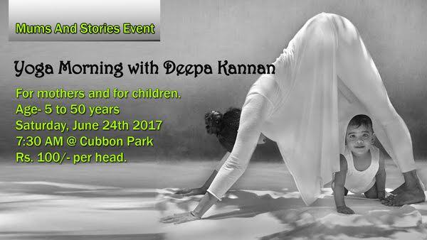 Yoga Morning With Deepa Kannan Cover Image