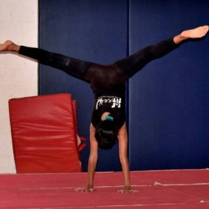 Performing Head Stand