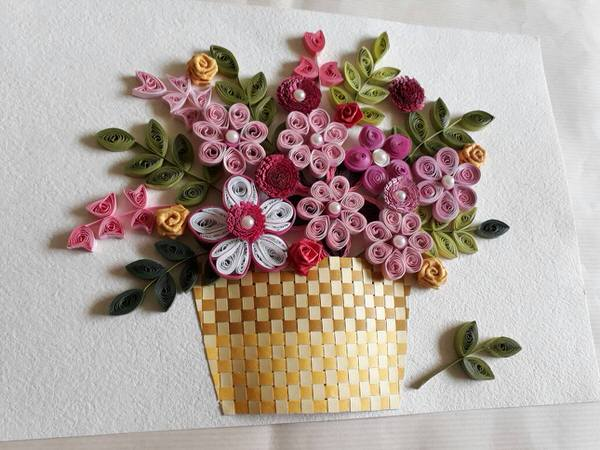 Basic Quilling Class For Children Cover Image