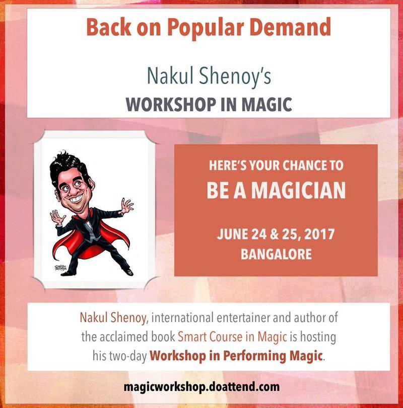 Nakul Shenoy's Magic Workshop Cover Image