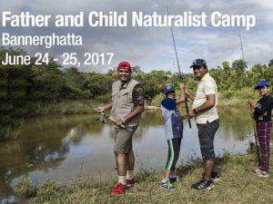 Father Child Naturalist Camp