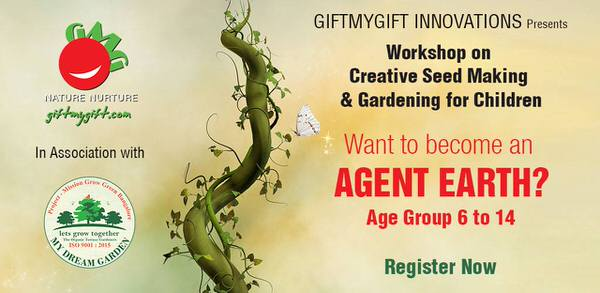 Creative Seed Making & Gardening Workshop Cover Image