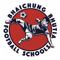 Logo of Bhaichung Bhutia Football Schools