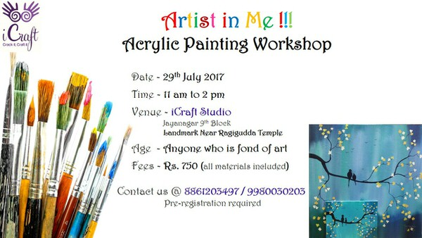 Acrylic Painting Workshop Cover Image