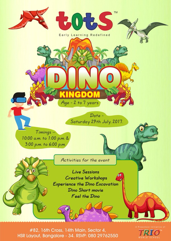 Tots Dino Kingdom Cover Image