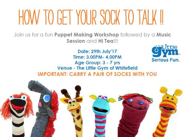 How To Get Your Sock To Talk – Puppet Making Workshop Cover Image