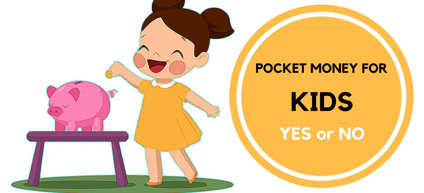 Pocket money for kids: Teach them to save & spend Cover Image