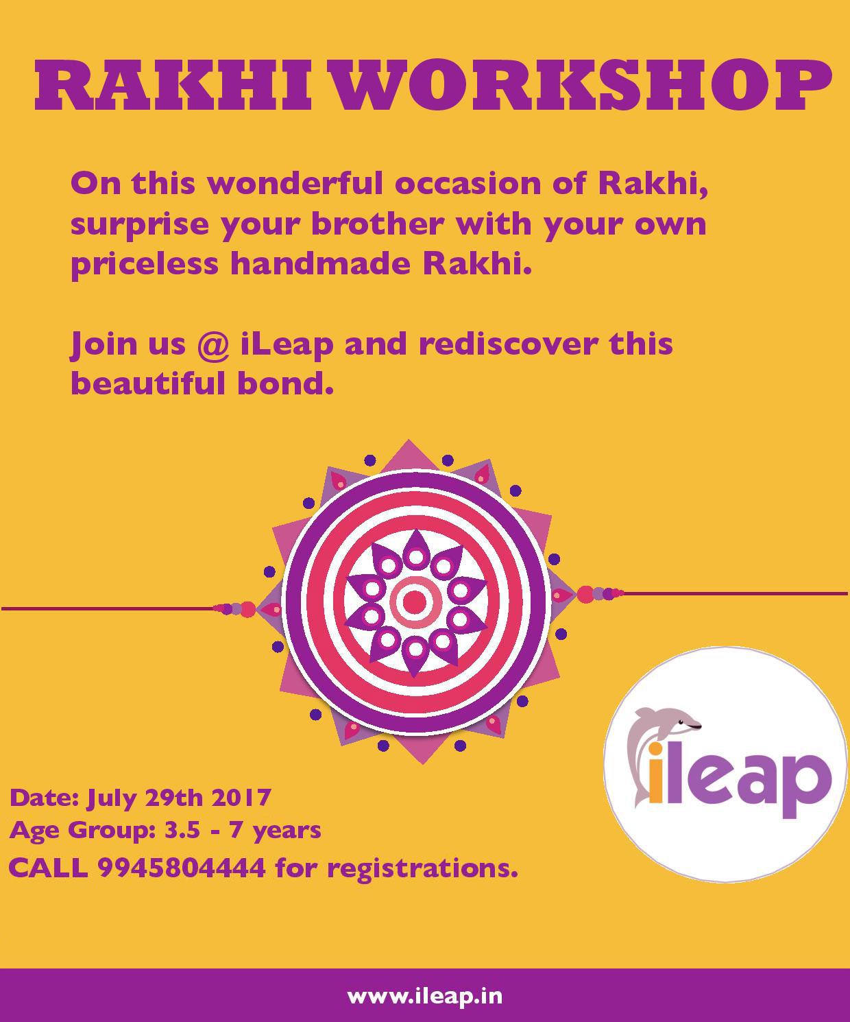 Rakhi Workshop Cover Image