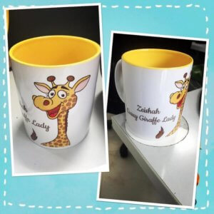 Giraffe Mug Set by Dottedi