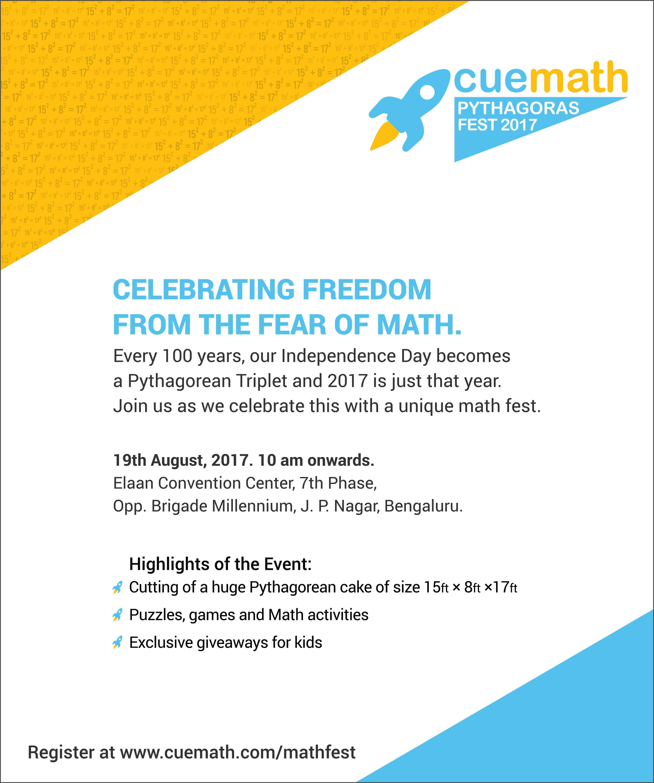 Cuemath Pythagoras Fest 2017 Cover Image