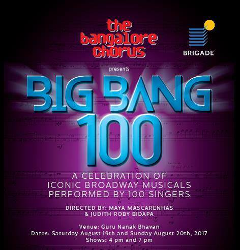 Big Bang 100 – A Celebration Of Iconic Broadway Musicals Cover Image