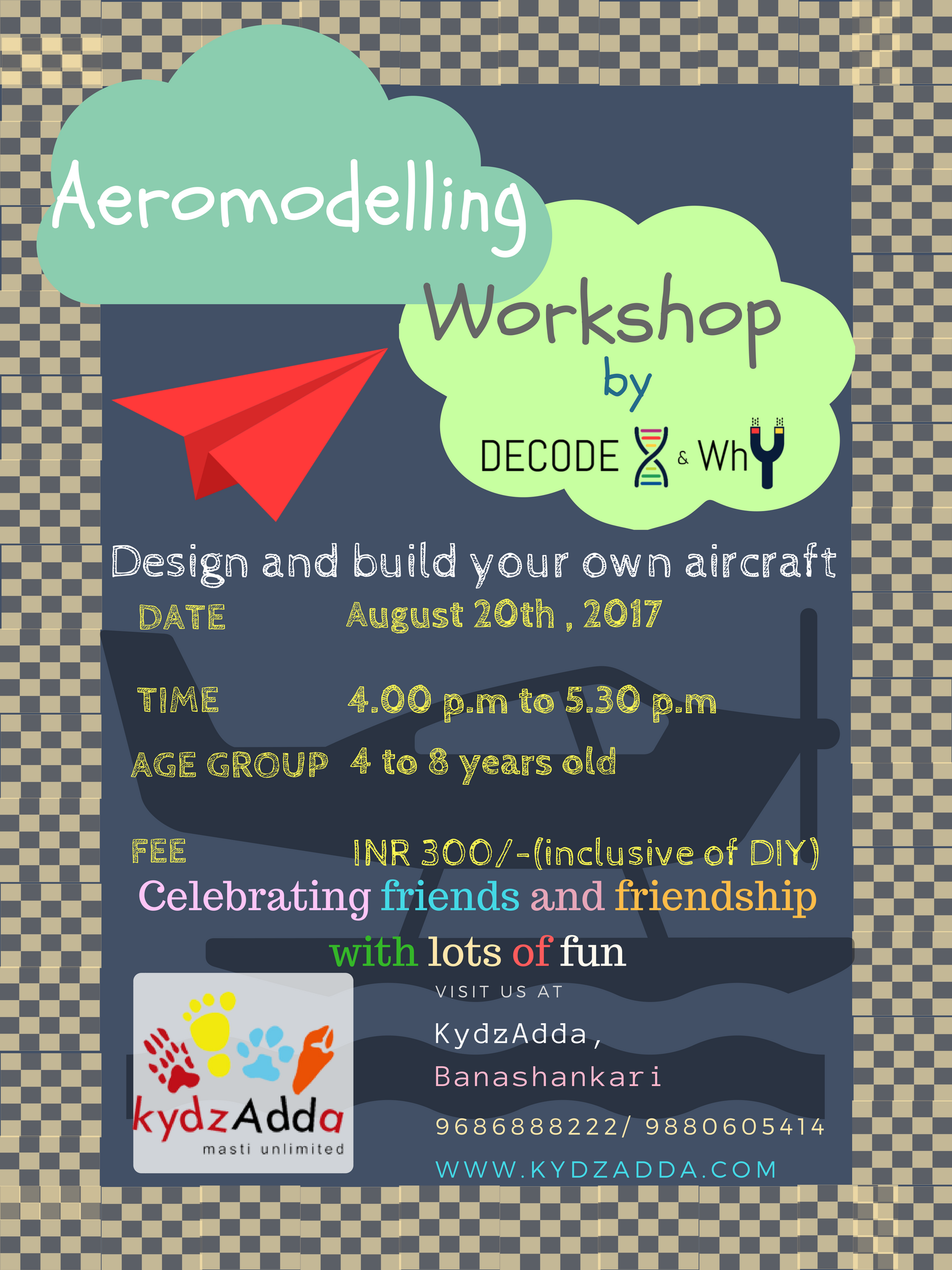 Aeromodelling Workshop Cover Image