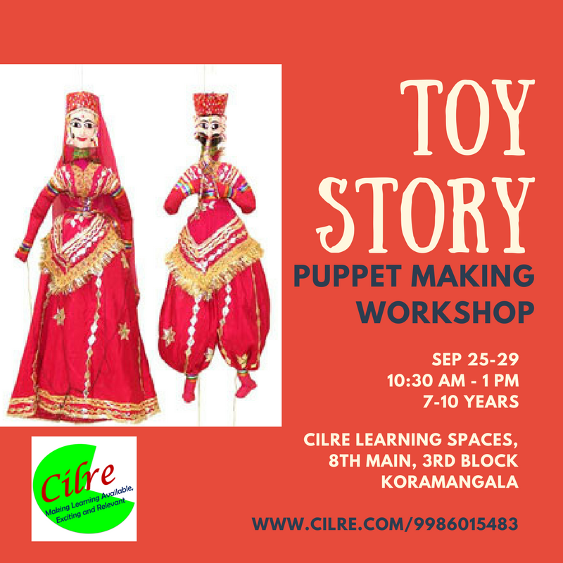 Toy Story – Puppet Making Workshop Cover Image