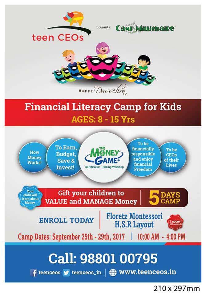 Financial Literacy Camp for Kids Cover Image