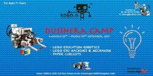 Dussehra Robotics Camp