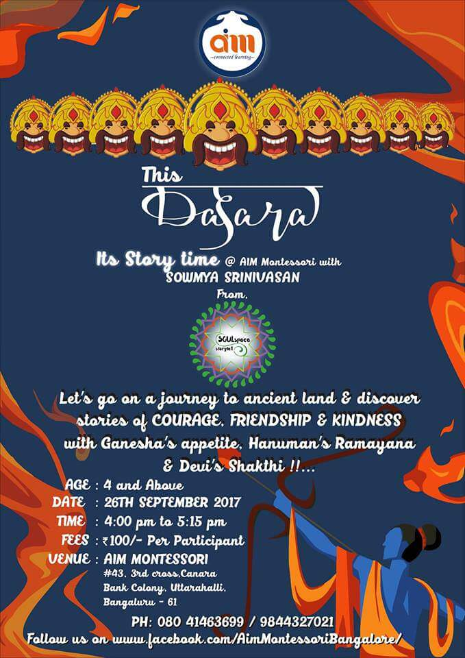 Dasara Doll Arrangement and Story Narration