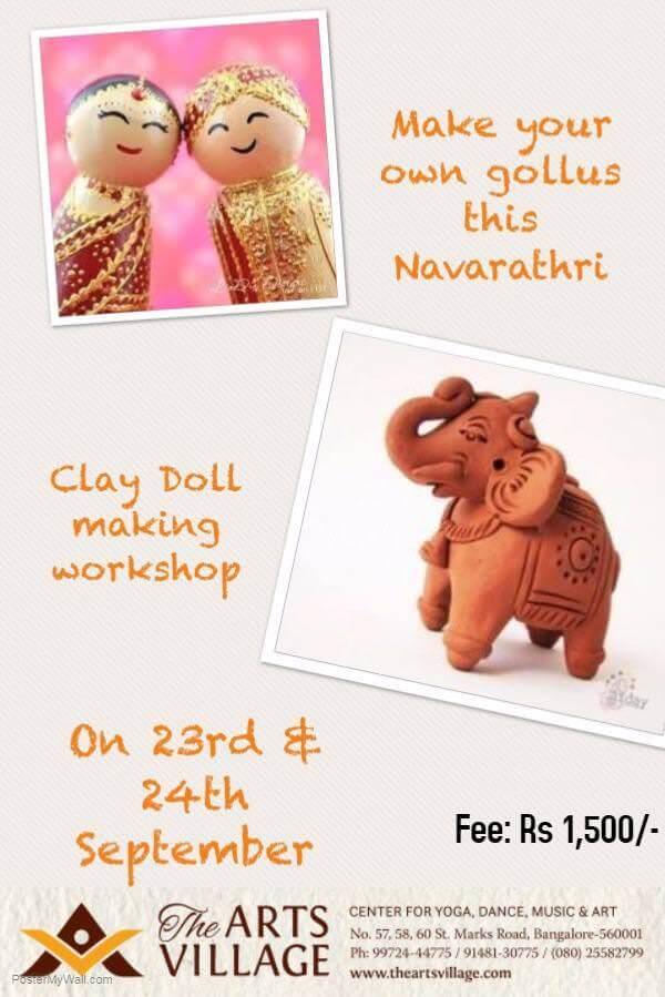 Clay Doll Making Workshop