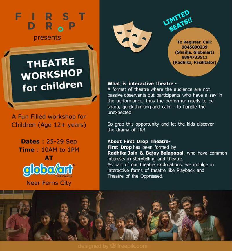 Theater Workshop For Children Cover Image