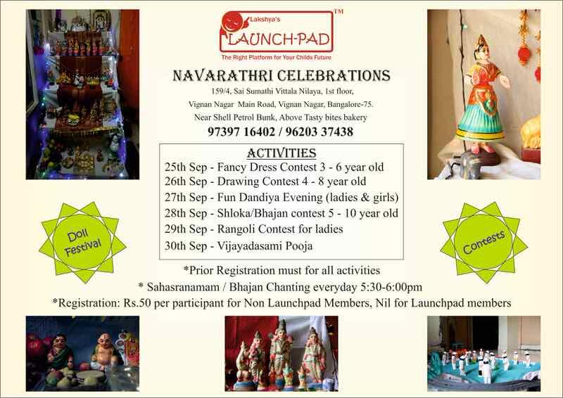 Navratri Celebration at Launchpad