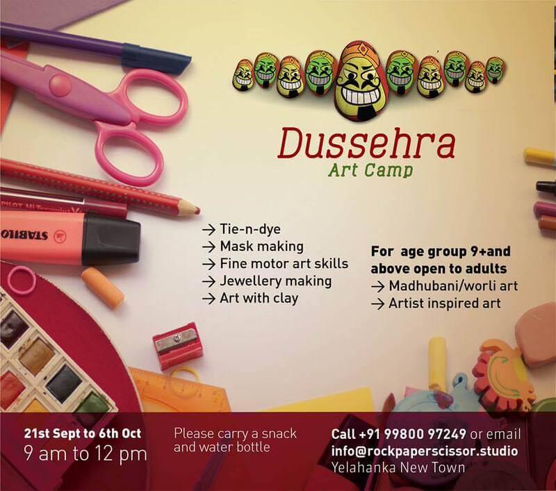 Dussehra Art Camp