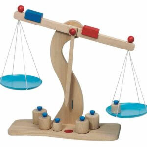 Wooden Beam Balance by Toyroom