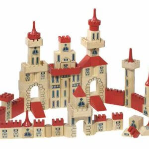 Wooden Toy Castle by Toyroom