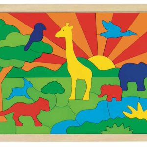 Toyroom Wooden Puzzle for Kids