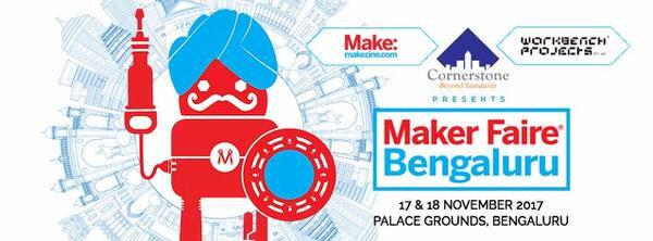 Bengaluru Maker Faire 2017 Cover Image