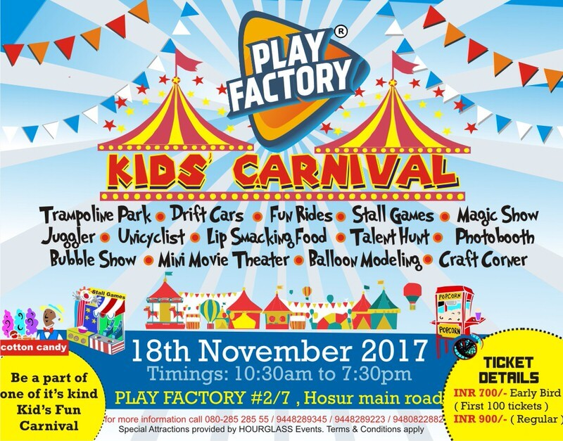 Kids Carnival at Play Factory Cover Image
