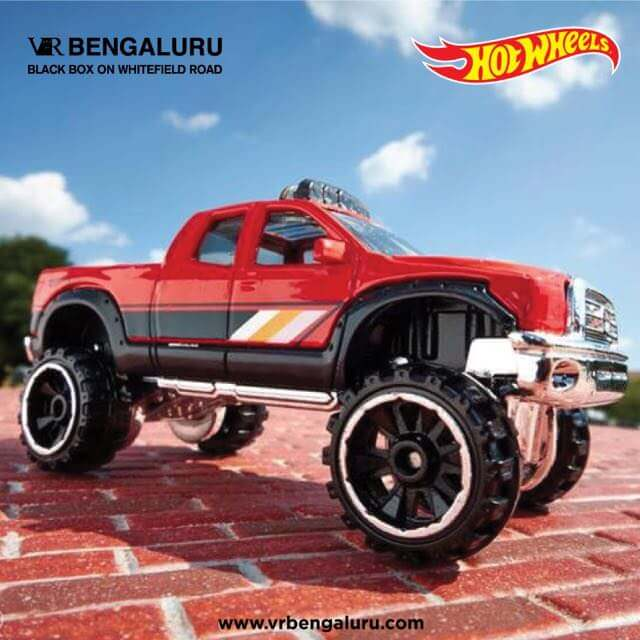 Hot Wheels Experience at VR Bengaluru Cover Image