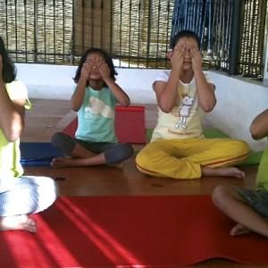 Yoga Asanas - Bhramari Pose