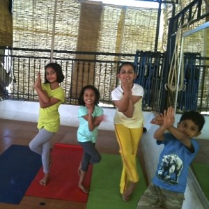 Yoga Asanas - Eagle Pose