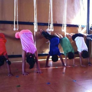 Puraw Vida Iyengar Yoga for kids