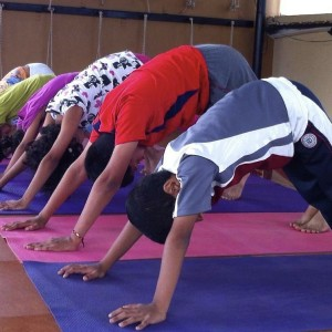 Yoga Asanas - Downward dog Pose