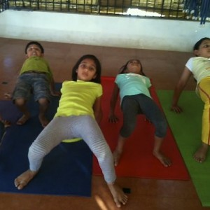 Yoga Asanas - Table Pose