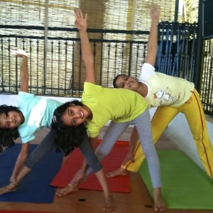 Yoga Asanas - Triangle Pose