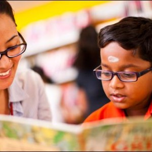 British Council Library - learning to read