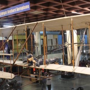 Visvesvaraya Industrial and Technological Museum, Model of 1903 flyer of Wright Brothers