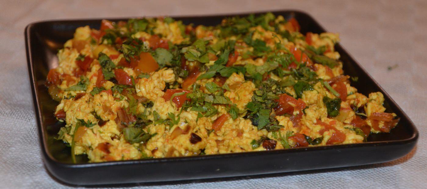Healthy Tofu Bhurji Cover Image