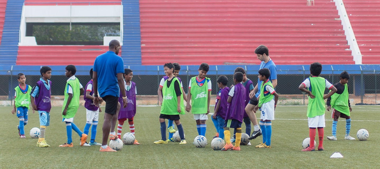 Football coaching for children at the BFC Elite Club Academy Cover Image