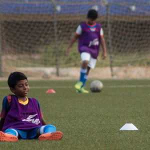 BFC Elite Club, kids playing football
