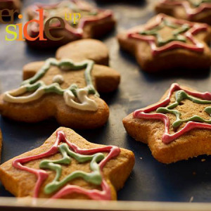 Butter Side Up- Star custom cookies