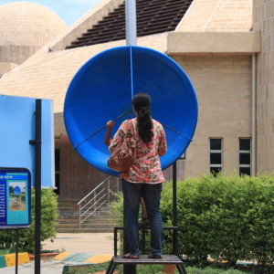 Jawarlal Nehru Planetarium, Bangalore is one of the best parks to visit with kids and toddlers to enjoy