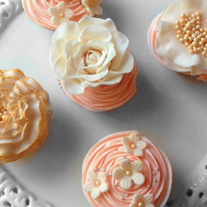 cupcakes, The Cupcake Company- Fresh cream icing cupcake