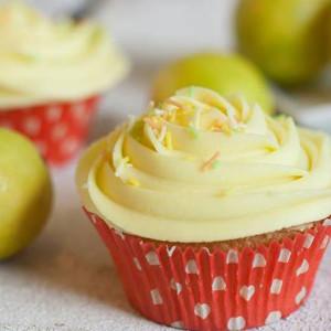 cupcakes, The Cupcake Company- Lemon flavor icing cupcake